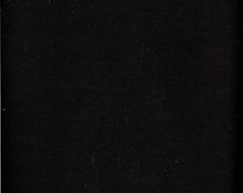 Price Reduced!  Black Waterford Osnaburg (171526) - by the piece - 1 yard 30-inches
