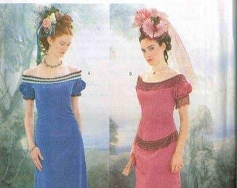 On Sale Edwardian Titanic Dress Period Era Reenactment Historical  Halloween Costume Sewing Pattern Butterick 3011 Plus Size 18 20 22 Bust 4