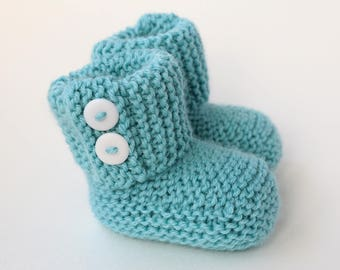Baby Boots Knitting Pattern, Baby Booties PDF Pattern, Knit Baby Pattern,  Knitting Patterns for Baby, Easy Knit Booties Pattern - MARLOW