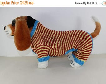 40% OFF SALE madmonkeyknits - Dog Stripe Onesie knitting pattern pdf download - Instant Digital File pdf knitting pattern