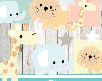 Baby animal cliparts - COMMERCIAL USE OK