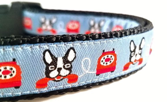 The Little Yapper - Dog Collar / Boston Terrier / Bark / Adjustable / Small Dog Collar / Large Dog Collar / Pet Lover / Dog Collar / Boxer