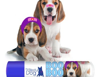 BEAGLE Boo Boo Butter Handcrafted Soothing All Natural Balm for Your Beagle's Itchy Skin Irritations and Skin Needs in Tubes and Tins
