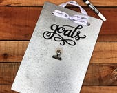 Employee Gift - Goals - Vision Board - Magnetic Board - Magnet Picture Frame - Dry Erase Board - Message Board - Memo Board