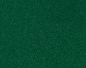 "Emerald Green Acrylic Craft Felt by the Yard - 1/16"" Thick, Available Plain (72"" Wide) or with a Peel-and-Stick Adhesive Backing (36"" Wide)"
