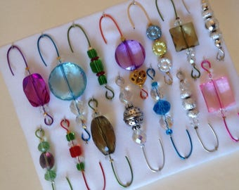 Only One Box Variety *1 - Beaded Ornament Hangers -  FREE SHIPPING