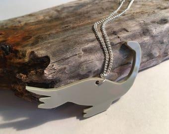 Plesiosaur necklace