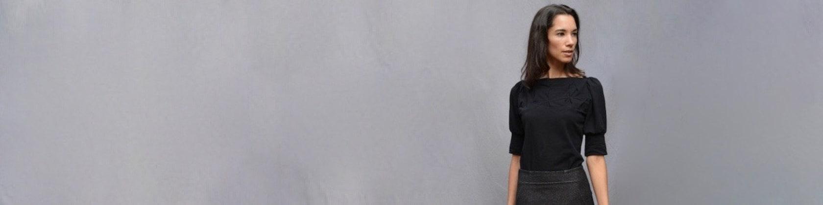 Handmade Women\'s Clothing Modern by outofline on Etsy