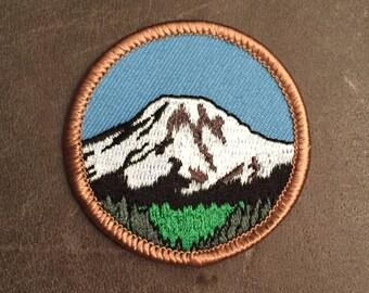 National Park Mountain Merit Badge Patch
