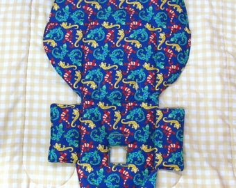 Evenflo padded high chair cover, highchair replacement pad, baby chair accessory, baby child care furniture, kids feeding chair, crawlers