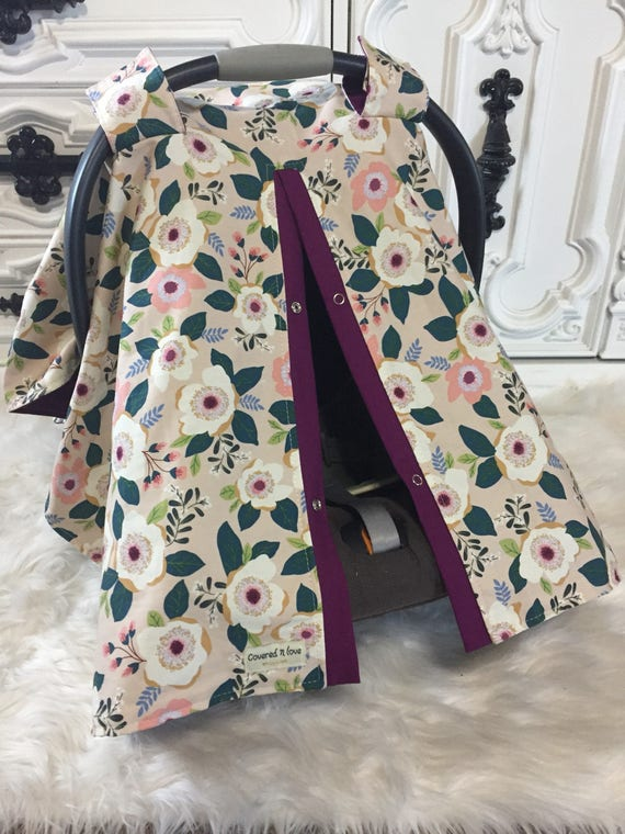 Carseat Canopy STUNNING / Car seat cover / car seat canopy / carseat cover / carseat canopy / nursing cover