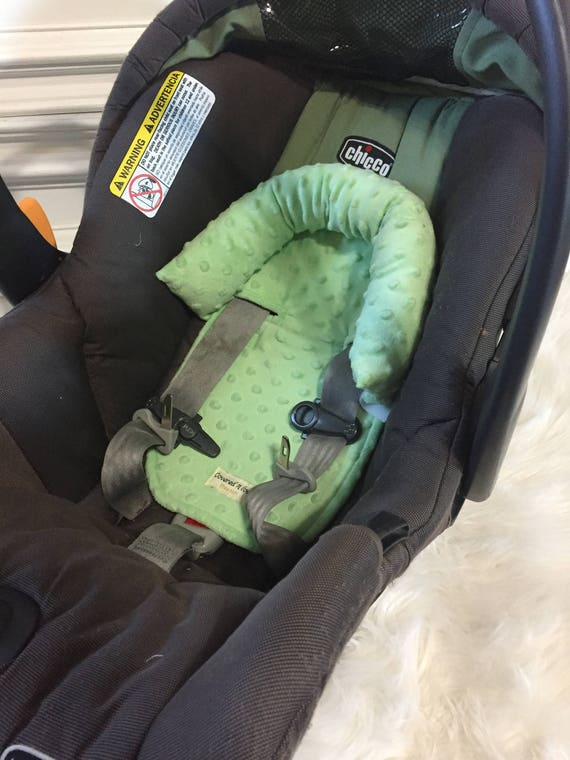 Car seat head support , Pistachio