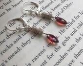 FOR ERIKA Opal and Garnet Earrings