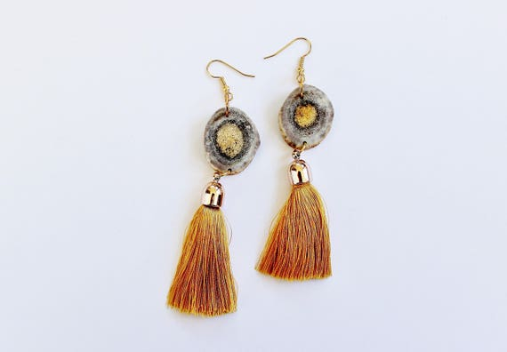 Antler & Bohemian Tassel Earrings II