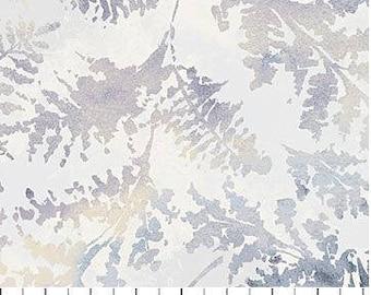 Northcott - Ambrosia - Twilight -  Fern Fronds - Grey Fabric by yard or select cut  21255-92