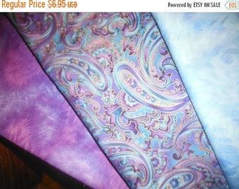 Gorgeous Purple Paisley Fabric--Stunning -- LAST Piece  -- 40-70-% off Patterns n Books SALE