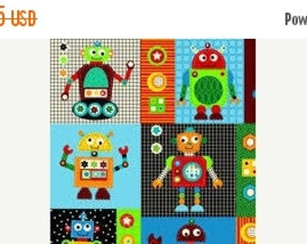 ROBOT Quilting Fabrics--Hard Find -- 40-70% off Patterns n Books SALE
