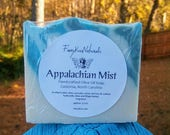 Appalachian Mist - Rustic Handcrafted CP Soap