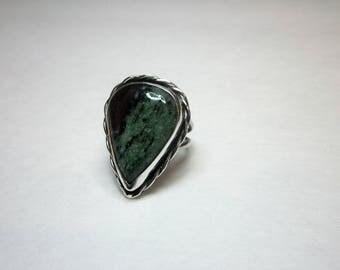 Bella's Anyolite Ring