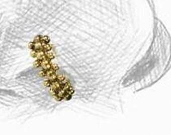 Brass Nose Ring, Tragus earring, Cartilage earring, Septum Ring, Belly piercing, Ear piercings, Tribu