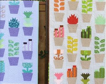 Greenhouse Quilt Pattern by Elizabeth Hartman PAPER PATTERN