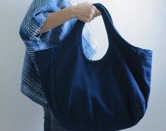 Summer Sale 20% Off - Indigo Tote Bag Kramkhem
