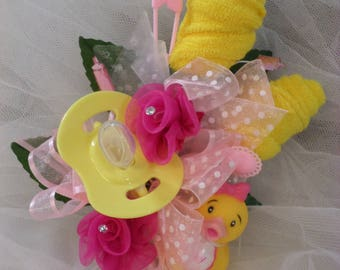 rubber duck baby shower corsage pin on baby girl corsage baby shower gift