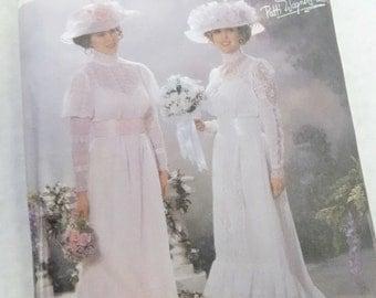 Simplicity Sewing Pattern 5943 Size HH 6-8-10-12 Victorian  Edwardian Titanic Era Dress Gown Uncut Patti Wagner Miller