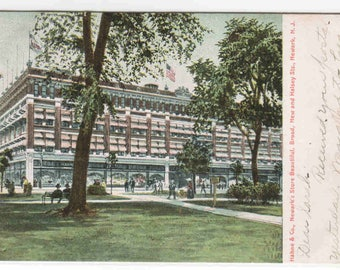 Hahne & Co Department Store Newark New Jersey 1907 postcard