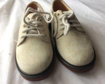 Cute Little Suede Oxfords Size 6 Children's  Shoes bt Ralph Lauren