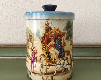 vintage collectable Riley's toffee tin