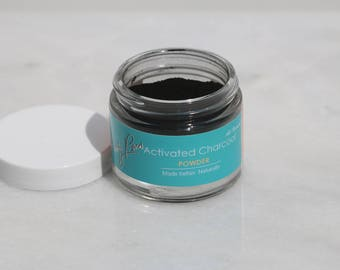 Beauty Brew Pure Activated Black Charcoal Powder for Teeth Whitening