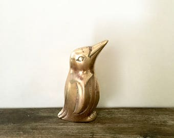 Brass Penguin Figurine
