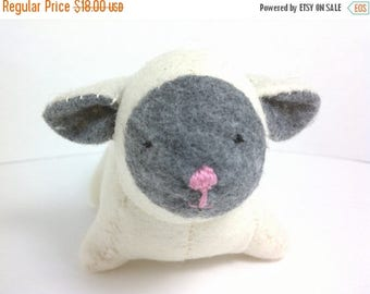 FLASH SALE Lamb stuffed animal small