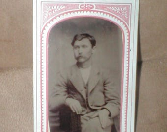 Antique Tin-Type Photo from the 1800's