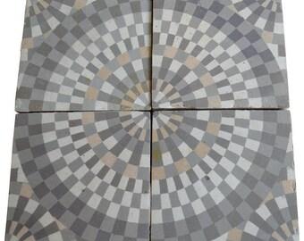 Ceramic Tiles from Mid-19th Century Belgium