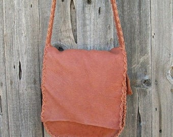 ON SALE Messenger bag , Crossbody handbag , Possibles bag , Leather carry all