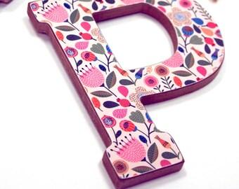 Hanging Alphabet Letters, Room Decor, Customized alphabet letters, Decor, Decoration, Kids Room, Print, Design, Unique, Personalized, Custom