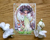 PRINT ACEO - Spring Nymph
