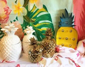 Pineapple Ceramic Jars-package 1