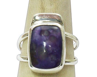 Charoite Ring Set in Sterling Silver, Size 6-1/2  r65chtf2831