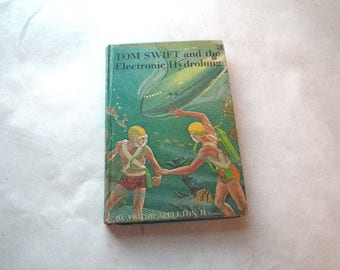 Tom Swift and the Electronic Hydrolung Book Boys Series Fiction 1961 1960s