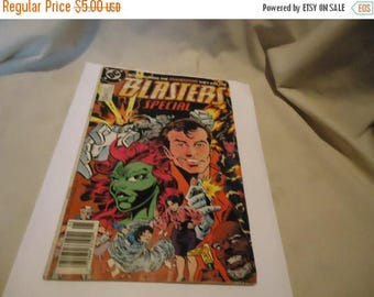 Ephemera & Books 50% Sale Vintage 1989 Born During The Invasion They Are The Blasters Special  #1 DC Comic, collectable
