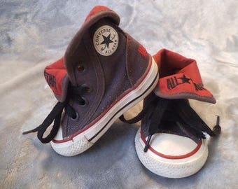 Vintage Toddler Chuck Taylor All Star High Top Tennis Shoes 3