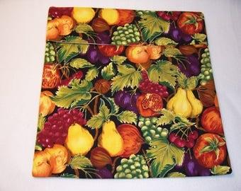Handmade Microwave Potato Bag,Fruit Print,Kitchen,Dining.Potato Pouch,Bake Potato,Bake Potato Bag