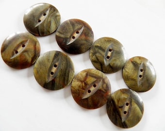 Vintage Celluloid Overlay Buttons