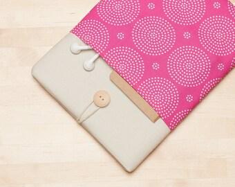 ipad mini sleeve / ipad mini retina case / ipad mini cover - pink -