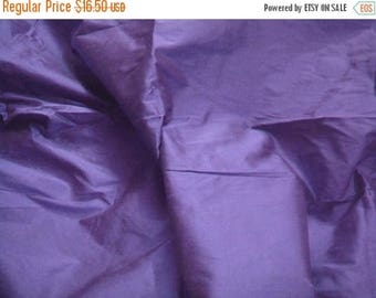 CIJ SALE dupioni silk fabric - violet blue - 1 yard - sld155