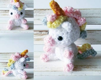 Pastel Unicorn Amigurumi