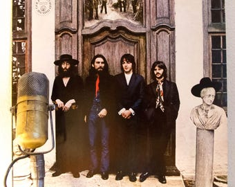 """ON SALE The Beatles Vinyl Record Vintage 1960s British Pop Rock and Roll """"The Beatles Again"""" (also known as 'Hey Jude') - (1970s Capitol re-"""